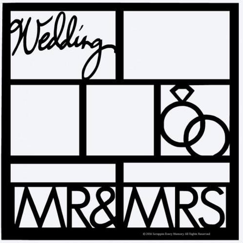 Mr & Mrs Scrapbook Overlay
