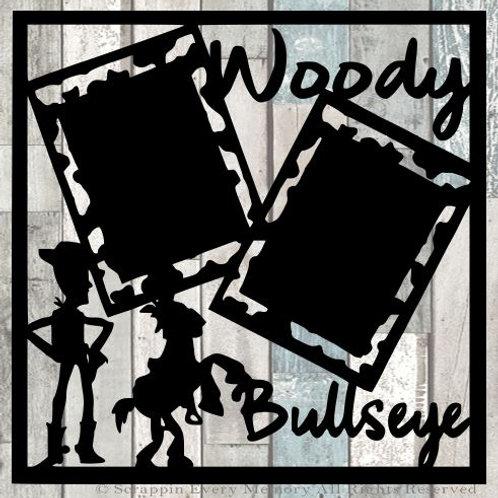 Woody & Bullseye Scrapbook Overlay
