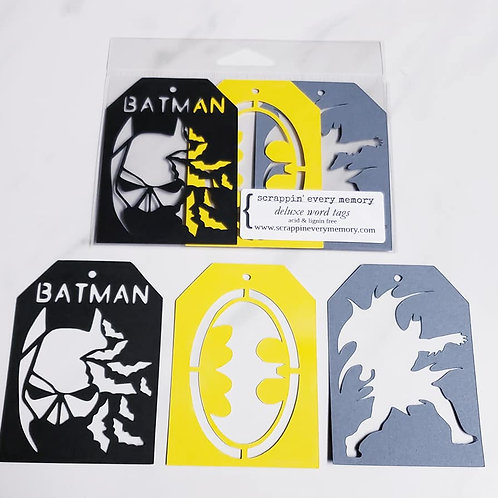 Batman Deluxe Word Tags
