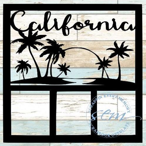 California Scrapbook Overlay