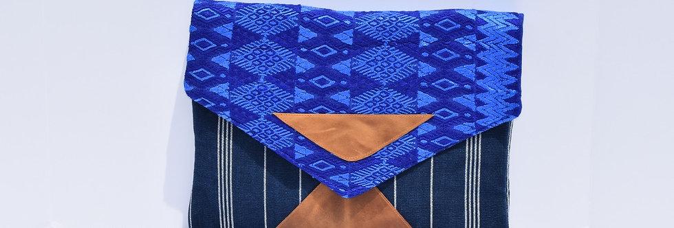 Laptop Envelope: Huipil en Azul