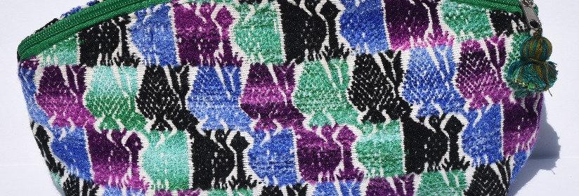 Cosmetic Huipil Bag: