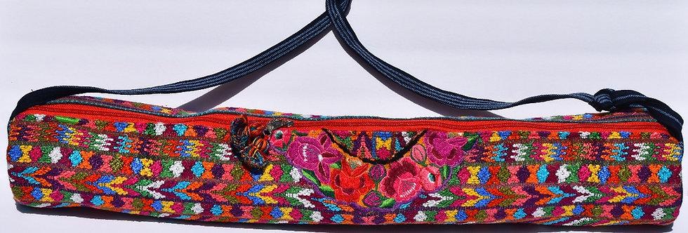 Yoga Mat Bag: Huipil