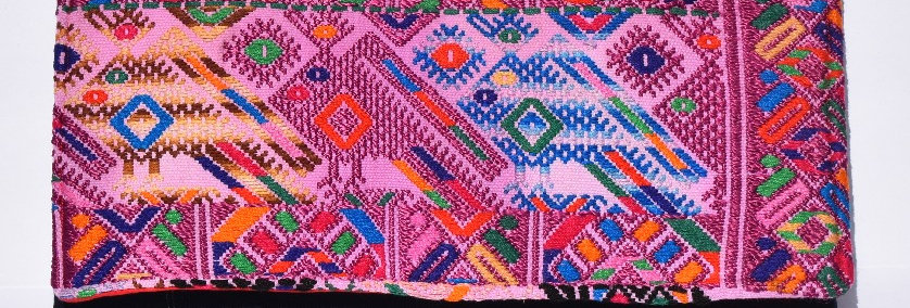 Huipil Clutch: Nahualá Collection