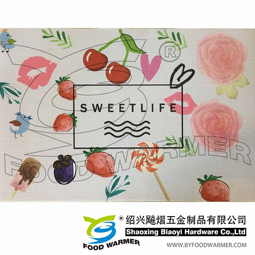 Fruitful life textilene place mat