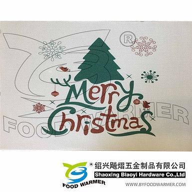 Merry Christmas deer textilene place mat