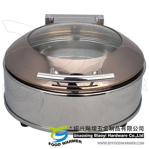 Mini round luxury electric heating chafing dish