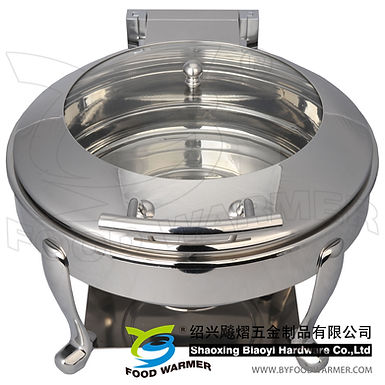 Standard round electric heating chafer