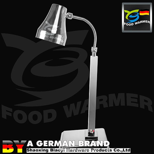 SS304 Free Standing Infrared Heating Lamp for Canteen and Buffet Food Service