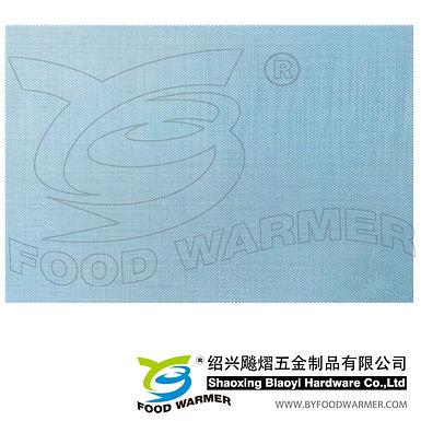 Ocean blue textilene place mat