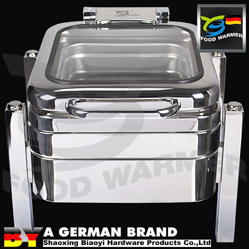 Mini Electric GN 1/2 Chafing Dish for Compact Storage Space Restaurants