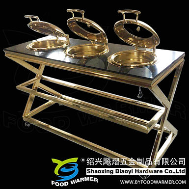 Golden tripple-chafer mobile cutlinary station