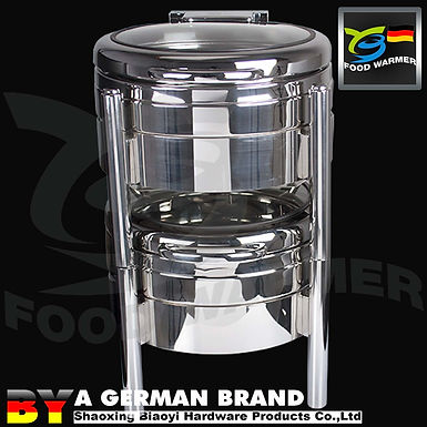 Compact Storage Stackable SUS 304 Electric Heating 4L Mini Chafing Dish