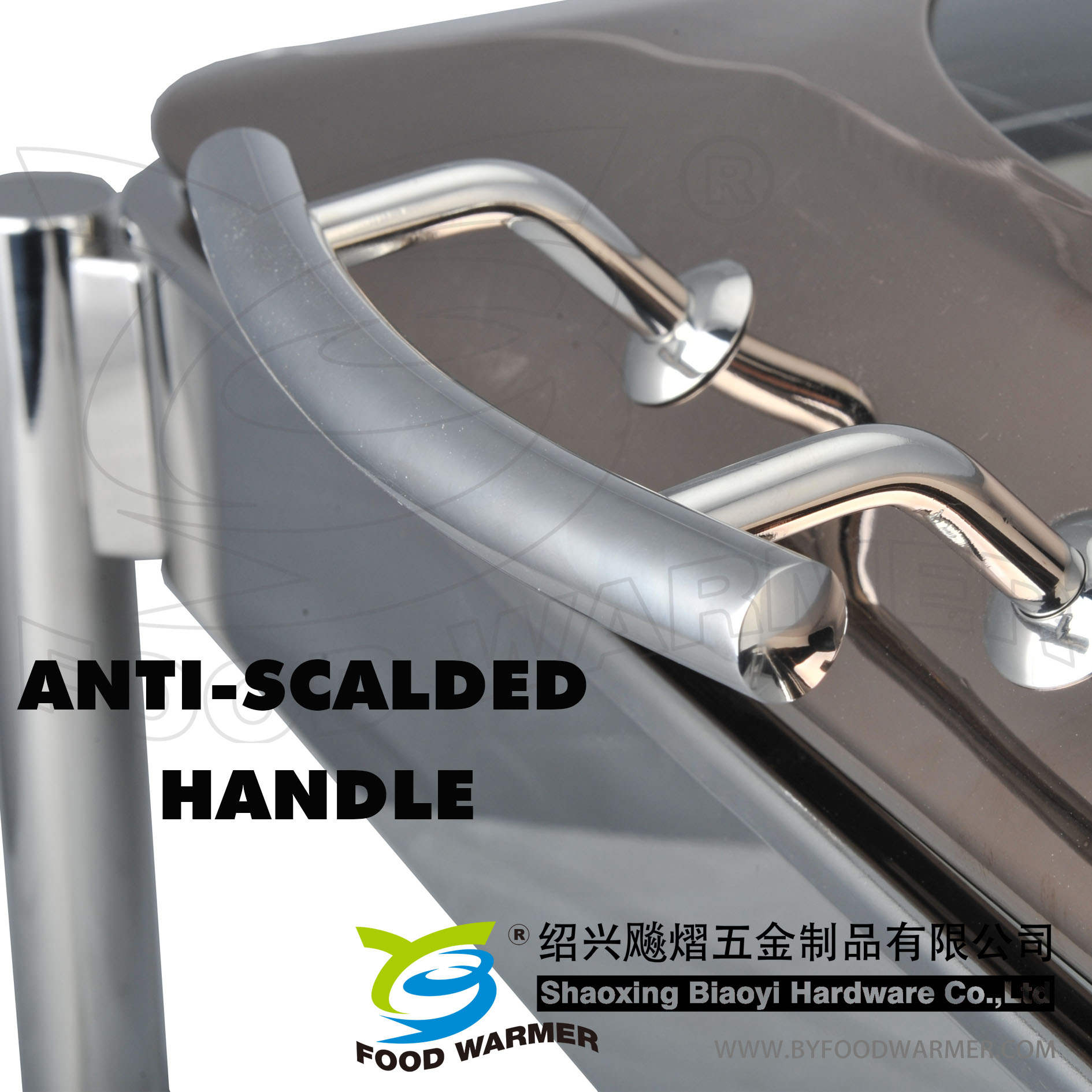 Anti-scalded handle