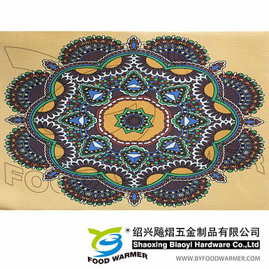 Artascope pattern textilene place mat