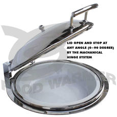 Lid open at any angle
