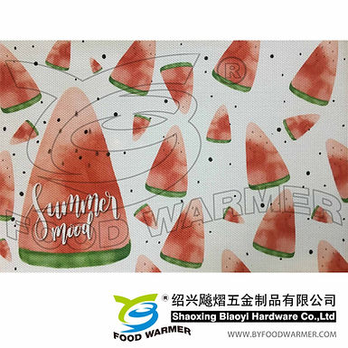 Watermelon textilene place mat