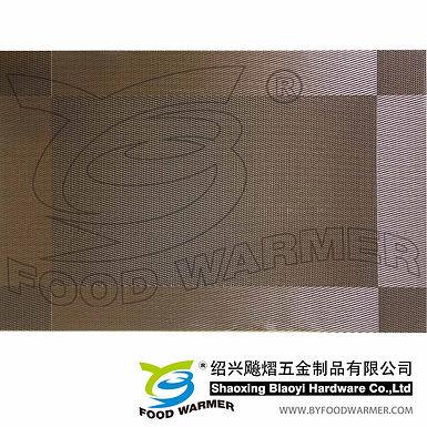 Ocher classic textilene place mat
