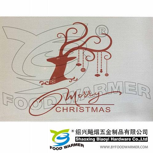 Christmas deer textilene place mat