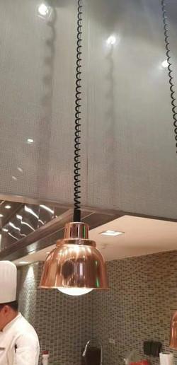 Ceiling Mount Heat Lamp