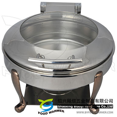 Mini round electric heating chafer
