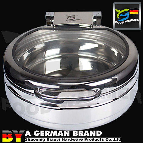 No Frame Induction Cooker Application Chafing Dish of 4L Mini Round Shape