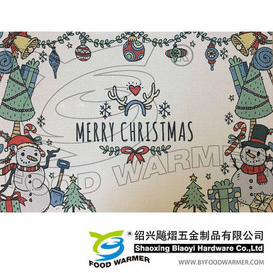 Christmas textilene place mat