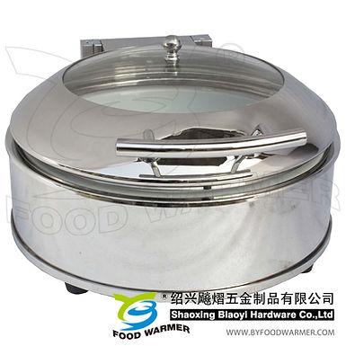 Mini round luxury electric heating chafing dish