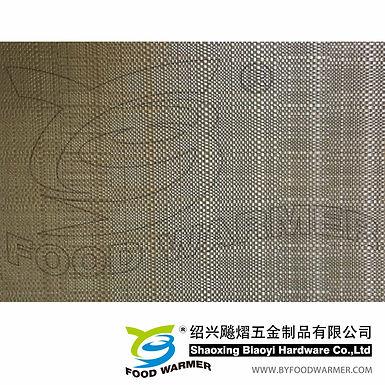 Champagne color textilene breakfast mat