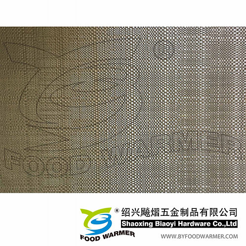 Champagne color textilene breakfast mat
