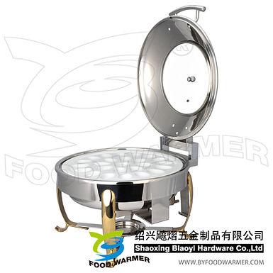 Standard round boiled egg chafer