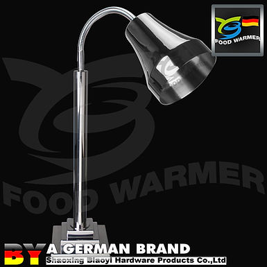 Commercial Heating Lamp For Dishes With SUS304 Lamp Shade of Orthostomou edge