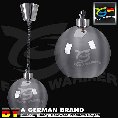 SUS304 Ball Shape 60°C Infrared Hanging Type Space Saving and Decorating Light