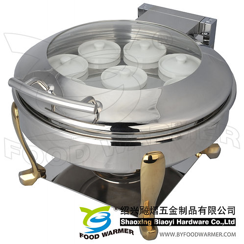 Standard round Chinese stew soup chafer