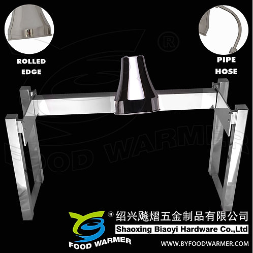 1-Lamp stainless steel no-base heat lamp station