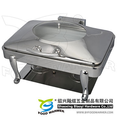 Oblong electric heating chafing dish