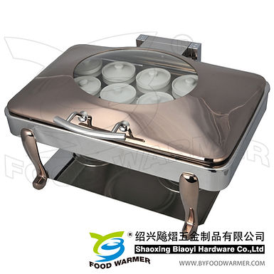 Copper oblong electric heating Chinese stew sup chafer