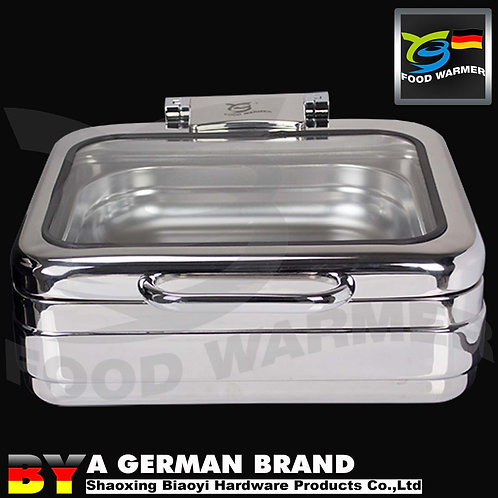 GN2/3 Square Chafing Dish with No Frame Apply to Induction Cooker