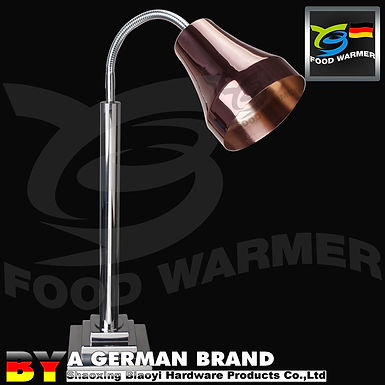 Commercial Heating Lamp For Dishes With Copper Lamp Shade of Orthostomous Edge