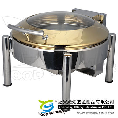 Standard stackable electric warming chafer