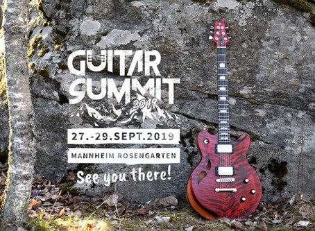 Taisto Guitars at Guitar Summit 2019