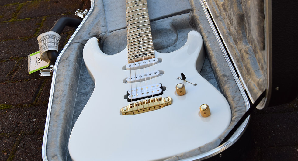 Taisto Guitars V25-FX/S with Bare Knuckle Pickups Irish Tour and Nailbomb pickups