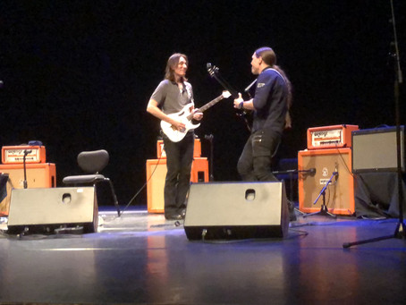 Samuli Federley Jamming With Steve Vai