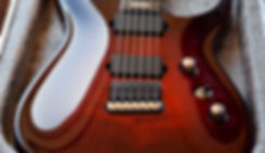 Taisto Guitars V25-FX/H with recessed Hannes bridge