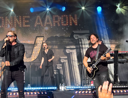 Jimmy Westerlund with Jonne Aaron band