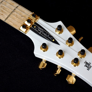 Signature in headstock