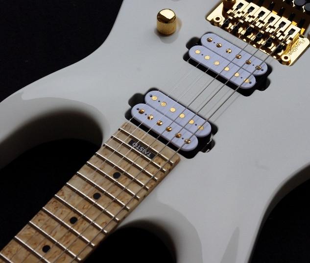 V25-FR custom guitar top view