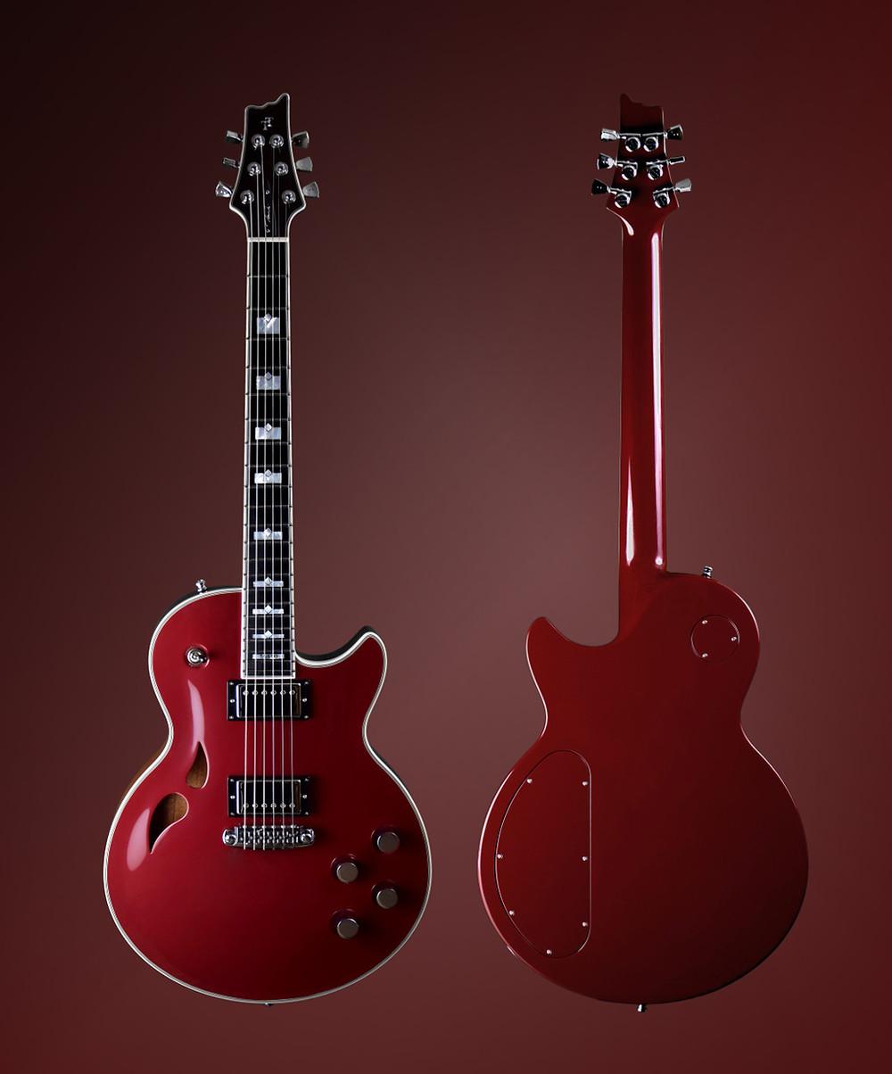 Taisto Guitars AROK-WG Cherry Blossom custom guitar