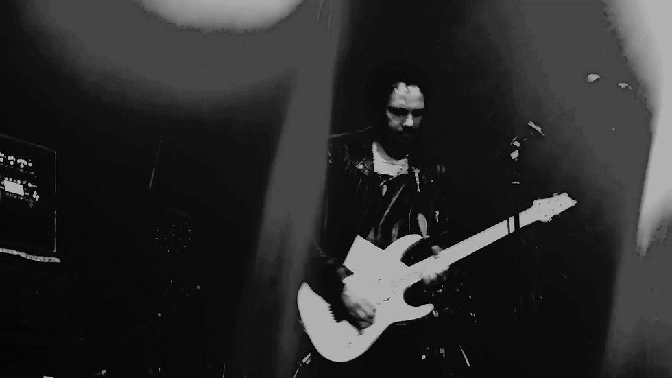 Jimmy Westerlund / One Desire plays live Taisto Guitars V25-FX/S guitar