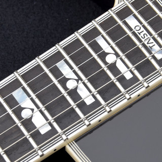 Block inlay with dot